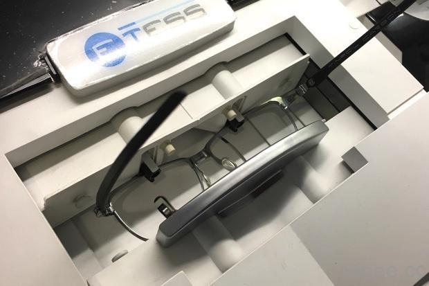 恆源眼鏡 品牌太陽眼鏡改有度數-打磨鏡片,原本很厚變好薄 4