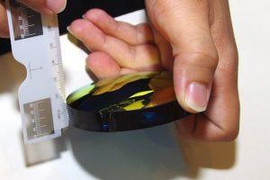 恆源眼鏡 品牌太陽眼鏡改有度數-打磨鏡片,原本很厚變好薄 2