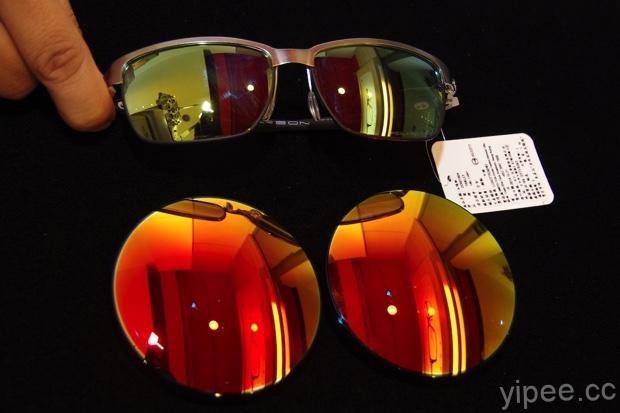 恆源眼鏡 品牌太陽眼鏡改有度數-打磨鏡片,原本很厚變好薄 3