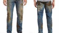 沾有泥濘的牛仔褲是辛苦工作的象徵,美國高檔時尚百貨 Nordstrom 也推出一 […]