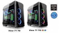 曜越推出 View 71 TG RGB 高直立式鋼化玻璃電競機殼與 View 7 […]