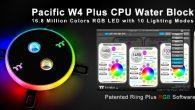曜越推出光彩奪目的水冷散熱「Pacific W4 Plus CPU 水冷頭」,搭 […]