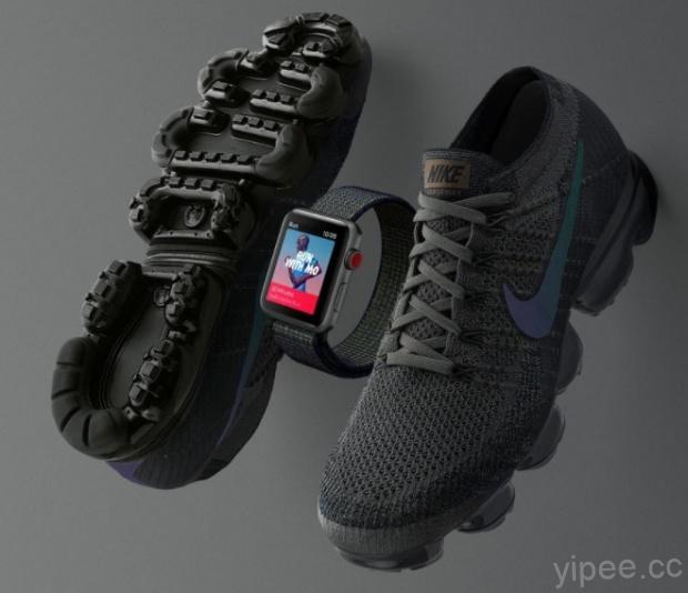 Nike 公佈全新配色設計的「Midnight Fog」 Apple Watch […]