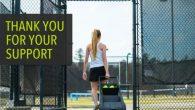 每次練習打網球,場上就會有一堆散算地上的球,等到整理球場可就要累了,必須一顆顆彎 […]