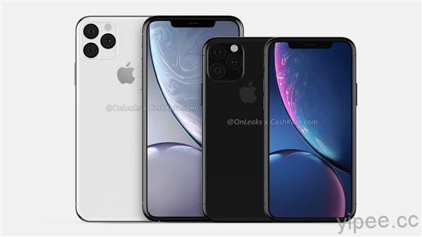 Apple iPhone XI Max  360度渲染影片流出