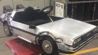 「回到未來」的 Delorean DMC 12 時光機汽車帶著馬蒂和布朗博士回溯 […]