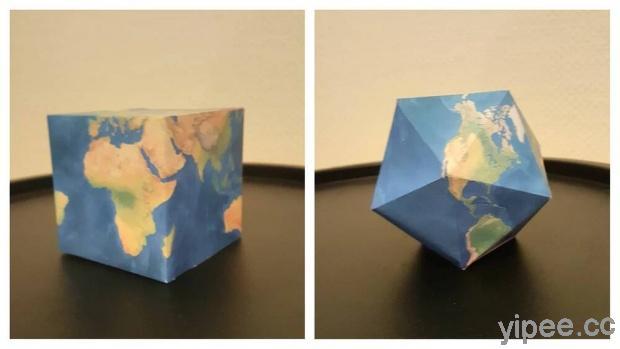 【免費】Mapscaping,14 款地球的立體紙模型讓你享受 DIY 樂趣