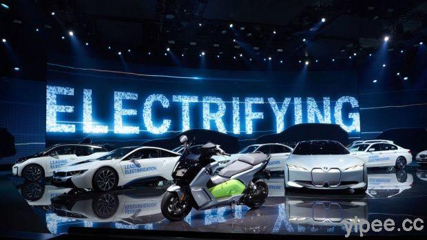 Bmw I4 純電動車2021 年亮相 530匹馬力 續航里程達600 公里