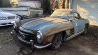 這輛從廢棄穀倉找到的 Mercedes Benz 賓士 300SL Roadst […]