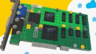 Lego 樂高積木除了可以組裝機器人、汽車之外,竟然還可以組裝成 GPU 顯示卡 […]