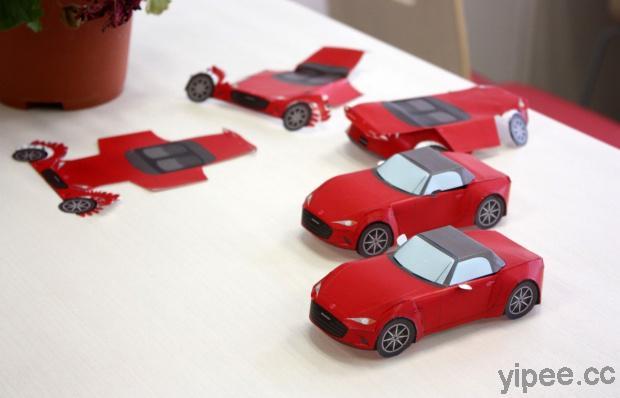 【免費】一次收集 1960 年至 2019 年 10 種  Mazda 馬自達車款紙模型!