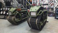 俄羅斯車訊網站 EX-ROAD 分享一輛前衛外型、使用坦克履帶設計的摩托車,可別 […]