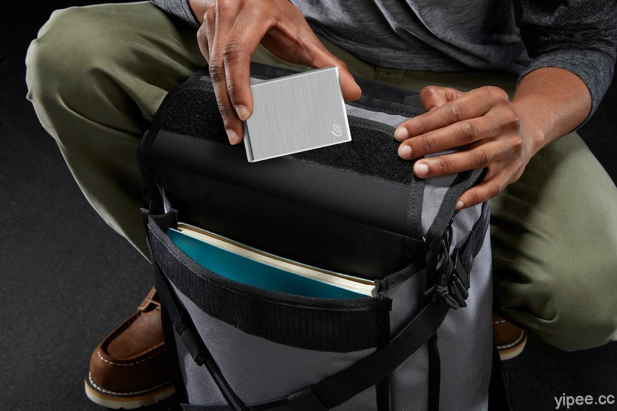 Seagate One Touch SSD 高效能外接式硬碟,讀寫最快達 1,030MB/s