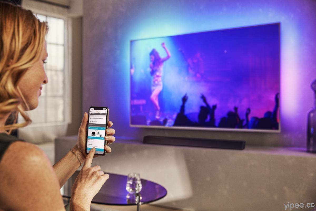 飛利浦大型顯示器引進 DTS Play-Fi 無線音訊串流技術,可在家體驗 Hi-Res音樂、節目音訊串流