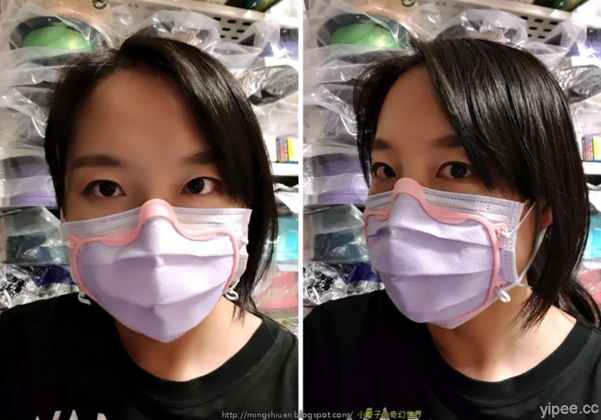 超佛心台灣創客設計口罩密合器,還開放 3D 列印檔案提供免費下載使用