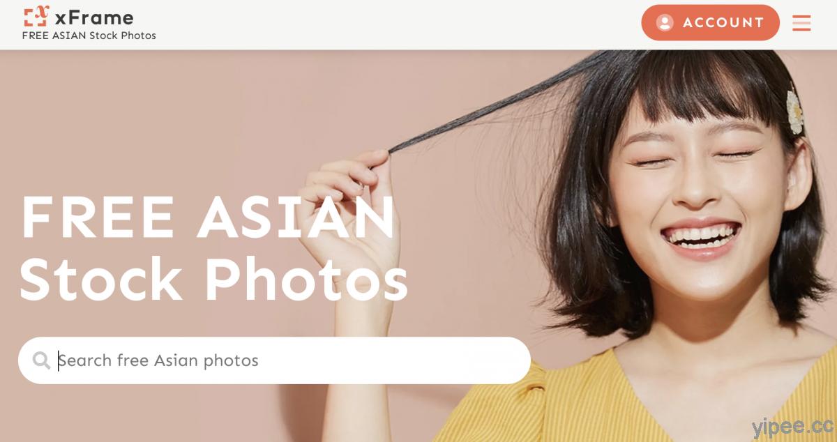 【免費】xFrame 亞洲模特兒專業圖庫,可供個人、網站使用,無需註明出處