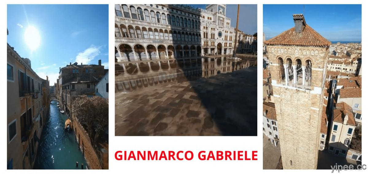【影片】FPV 穿越機以第一人稱視角,帶你逛沒有遊客的義大利水都威尼斯