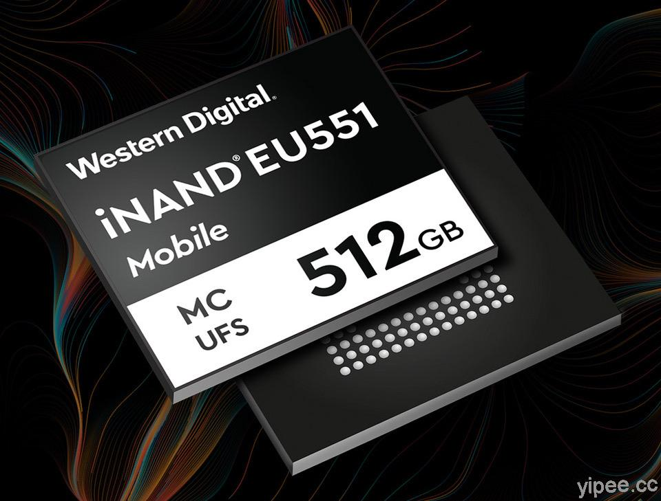 Western Digital 推出第二代 UFS 3.1 嵌入式快閃儲存裝置,提供高效能儲存空間