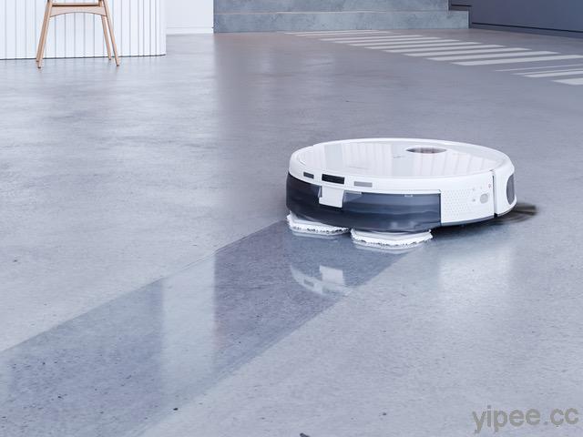 ECOVACS 推出 DEEBOT N9+ 掃拖機器人,具備吸掃拖洗風乾五合一功能