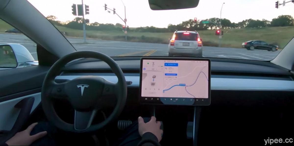 Tesla 特斯拉 FSD 全自動駕駛模式在美國推出,採每月 199 美元訂閱制度
