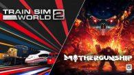 第一人稱射擊遊戲《Mothergunship》和射擊遊戲《Train Sim W […]