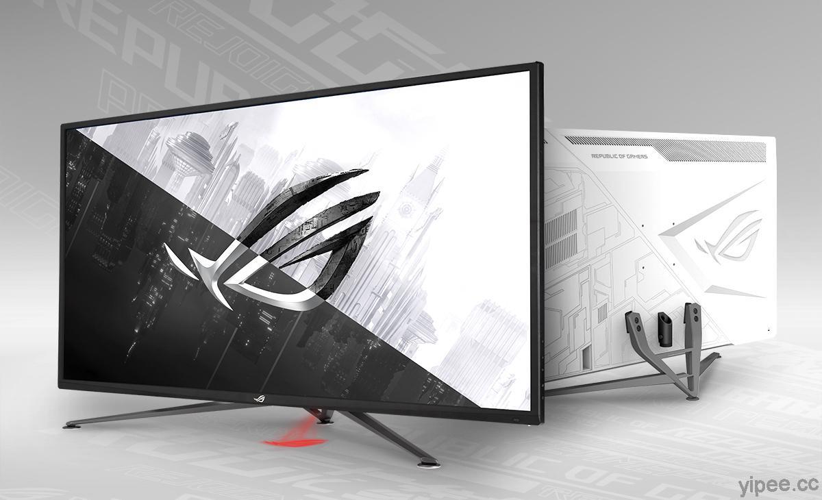 ROG 推出 PG32UQX/XG43UQ 兩款旗艦 4K 電競螢幕,更新率達 144Hz