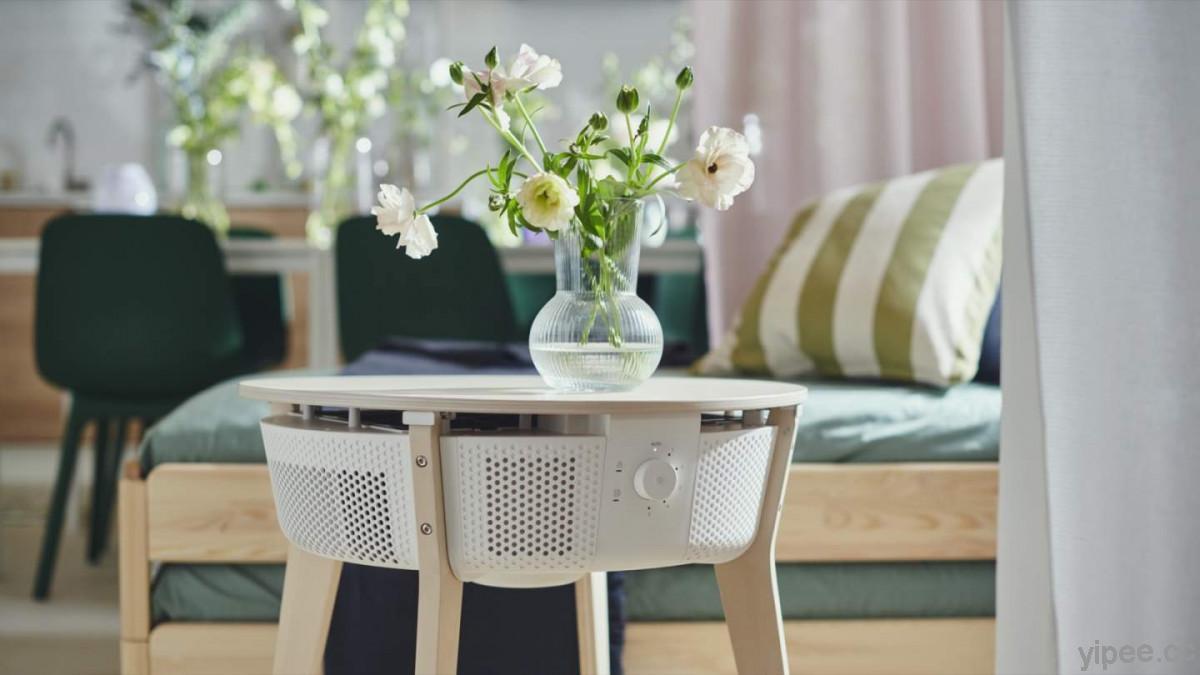 IKEA Starkvind 不只是空氣清淨機也是茶几!具備三層濾網、支援智慧遙控等功能