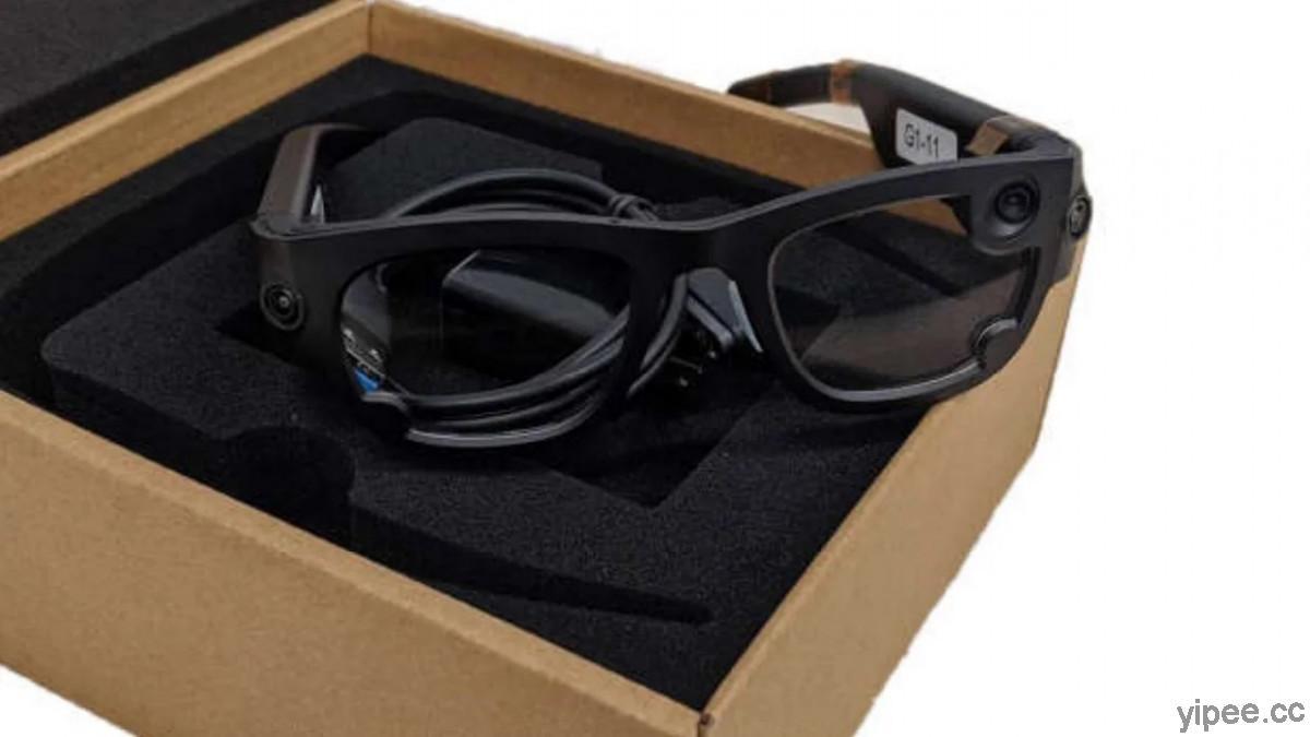 Facebook 的 AR 擴增實境智慧眼鏡曝光,名稱為「 Gemini」