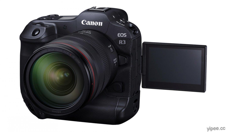 Canon 發表全片幅無反相機 EOS R3,具有眼球控制&車輛偵測自動對焦、高達30fps高速連拍