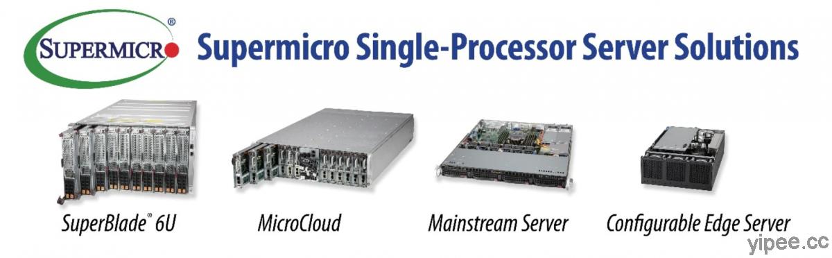 Supermicro 推出搭載 Intel Xeon E-2300 處理器及第三代 Intel Xeon 可擴充處理器的伺服器系列