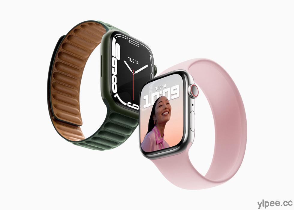 【2021 Apple 秋季發表會】 Apple Watch Series 7 主打螢幕增大,強化耐用度、提升充電速度