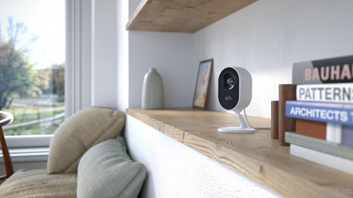 Arlo Essential 室內雲端無線 WiFi 攝影機,鏡頭遮蔽功能主打居家隱私