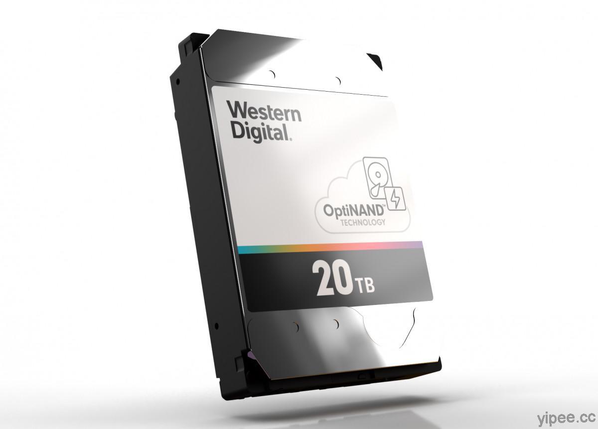 Western Digital 推出 OptiNAND 技術,ePMR 硬碟容量將在未來10 年達到 50TB