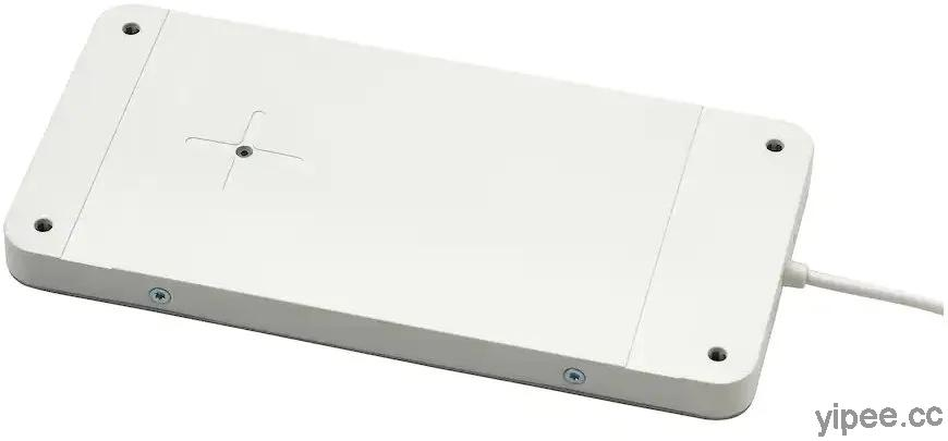 IKEA 推出新款無線充電板,搭配家具讓木桌擁有無線充電功能