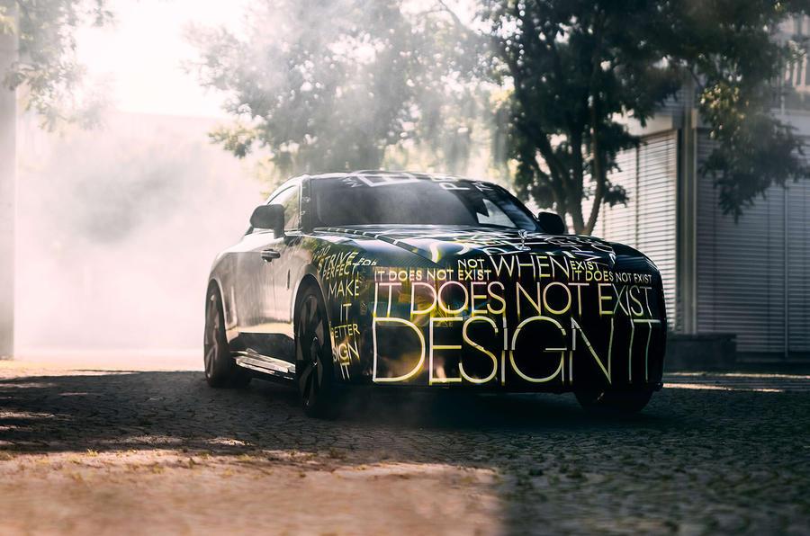 Rolls-Royce 首款純電動車「Spectre」,預計 2023 年登場
