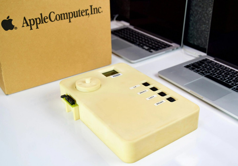 極為罕見的 iPod 原型機曝光!外型與上市版本差很大