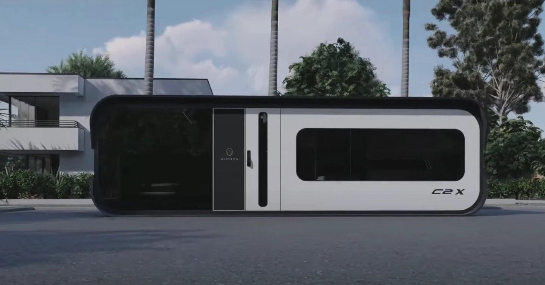 新加坡公司打造極具未來感的模組化智慧宅,10坪空間竟然擁有兩房設計