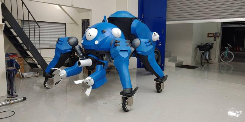 Coser 耗時 8 個月重現《攻殼機動隊》攻殼車,可乘坐也能移動